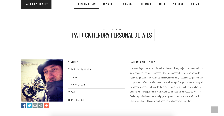 Patrick Kyle Hendry