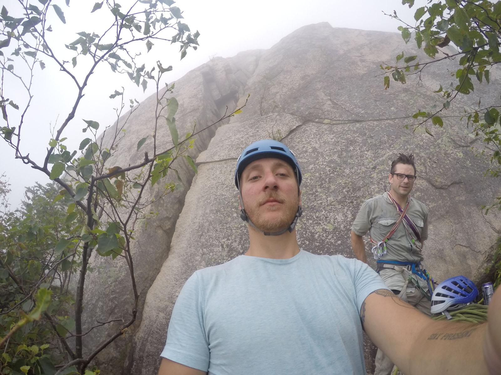 Patrick Hendry Climbing